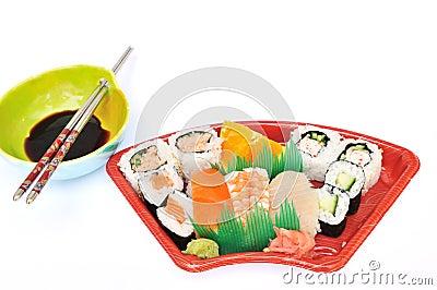 Sushi and Sashimi Lunchbox