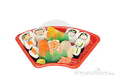 Sushi and Sashimi Lunchbox
