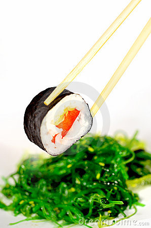 Sushi and Seaweed