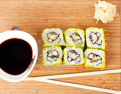 Sushi Set background