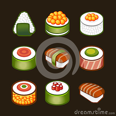 Sushi set - japan cousine