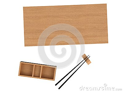 Sushi_utensil Royalty Free Stock Photo - Image: 9743465