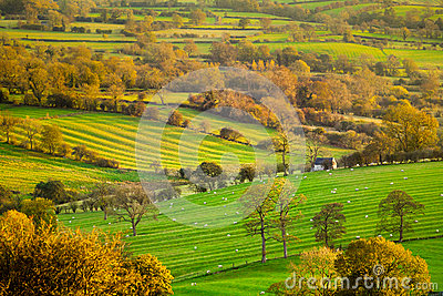 Susnet View of the Derbshire Dales