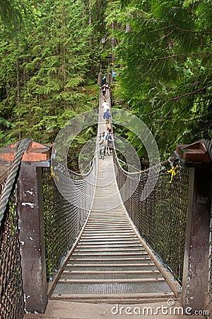 Suspension Bridge Editorial Photo