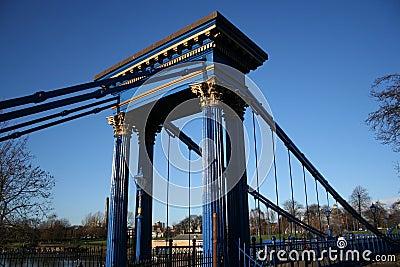 Suspension bridge Glasgow