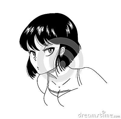 Suspicious girl