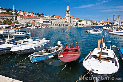 Sutivan on island Brac, Croatia