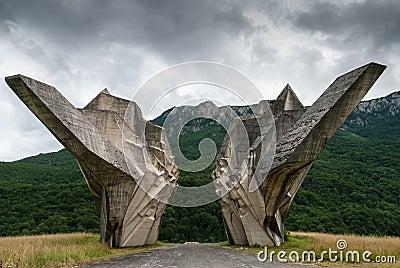 Sutjeska National Park, Bosnia and Herzegovina Editorial Image