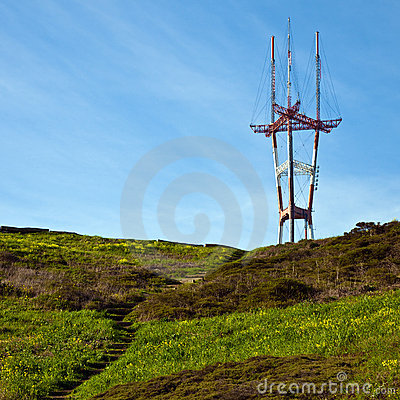 Free Sutro Tower Royalty Free Stock Image - 13037326