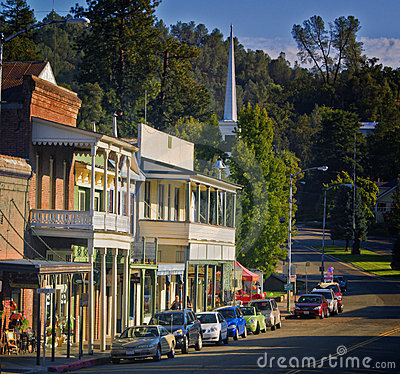 Sutter Creek, California Editorial Stock Photo