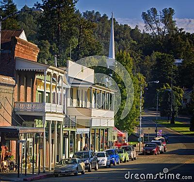 Sutter Creek, California Editorial Stock Photo