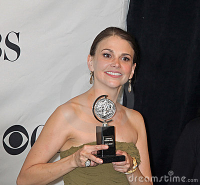Sutton Foster Wins Second Tony Editorial Photography