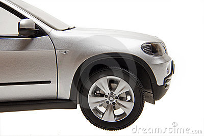 SUV car front part
