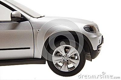 SUV car front part