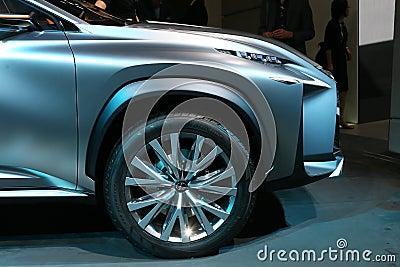 SUV Lexus LF-NX concept Editorial Image
