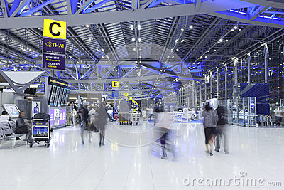 Suvarnabhumi airport Editorial Photography