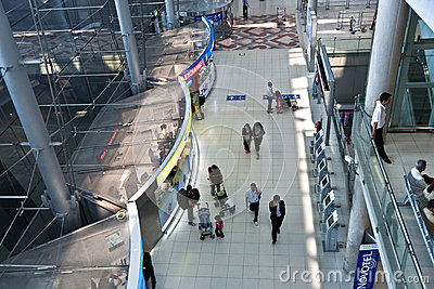 Suvarnabhumi International Airport Editorial Image