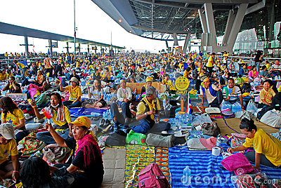 Suvarnabhumi International Airport Editorial Stock Photo