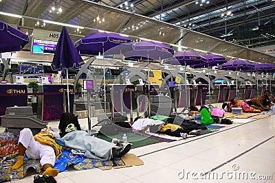 Suvarnabhumi International Airport Editorial Photography