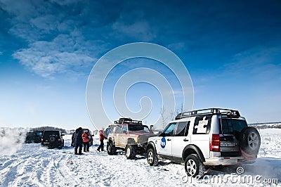 SUVs Editorial Image