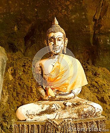 Free Suwan Kuha Temple (Wat Tam) In Phang-Nga Royalty Free Stock Images - 16166259