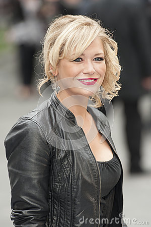 Suzanne Shaw Editorial Stock Image