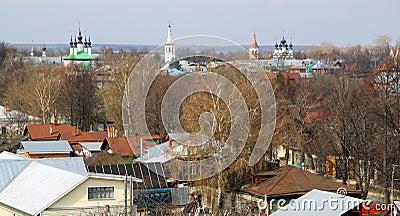 Suzdal in Russia