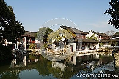 Suzhou traditional garden;Suzhou Gardens;