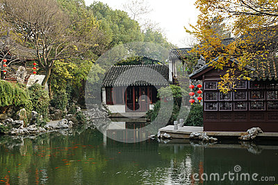 Gardens in Suzhou, China