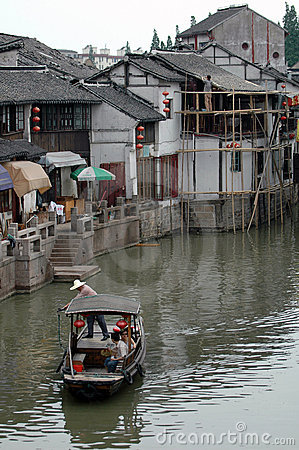Suzhou waterway