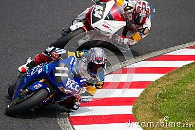 SUZUKA, JAPAN July 29. Rider of F.C.C. TSR Honda Editorial Stock Image