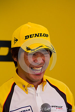 SUZUKA, JAPAN - July 29 : during talk show at 2012 Editorial Stock Photo