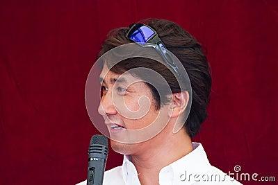 SUZUKA, JAPAN - July 29 : during talk show at 2012 Editorial Image