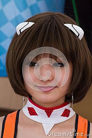 SUZUKA, JAPAN - July 29 : Unidentified Pit Babes Editorial Photography