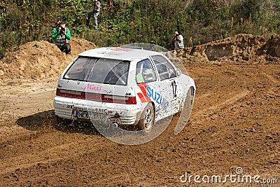 Suzuki Rallye Car Editorial Stock Image