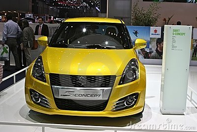 Suzuki SWIFT S-Concept Prototype Editorial Photography