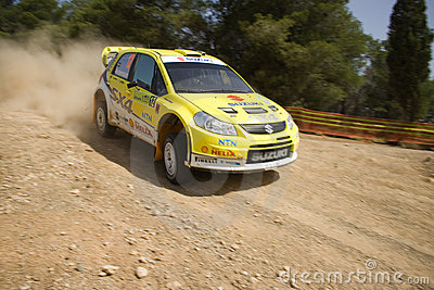 Suzuki SX4 WRC 2008 Editorial Image