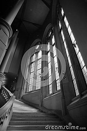 Suzzallo Library Staircase