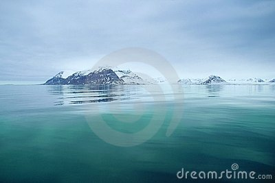 Svalbard sea view