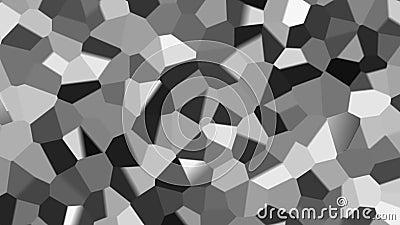 Svartvit livlig bakgrund för abstrakt fractal vektor illustrationer