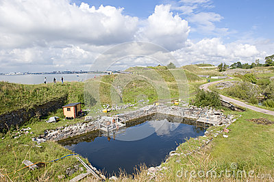 Sveaborg fortress Editorial Photo