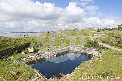 Sveaborg fortress Editorial Photo