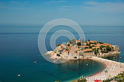 Sveti Stefan island / Saint Stefan island