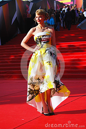 Svetlana Khodchenkova at Moscow Film Festival Editorial Photo