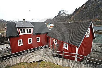 Svinøya s rorbuer