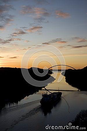 Svinesund Norway Sunset