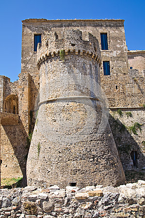 Free Swabian Castle Of Rocca Imperiale. Calabria. Italy. Stock Images - 49133284