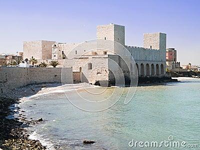 Swabian Castle. Trani. Apulia.