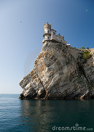 Free Swallow S Nest Castle Stock Photo - 8341460