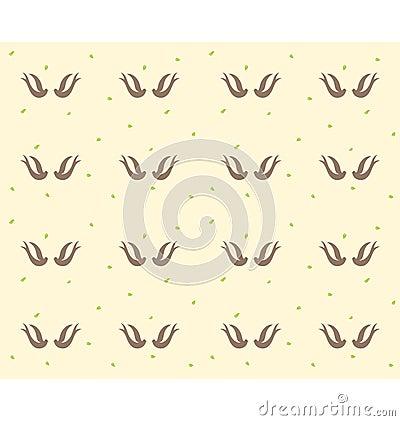 Swallows bird pattern